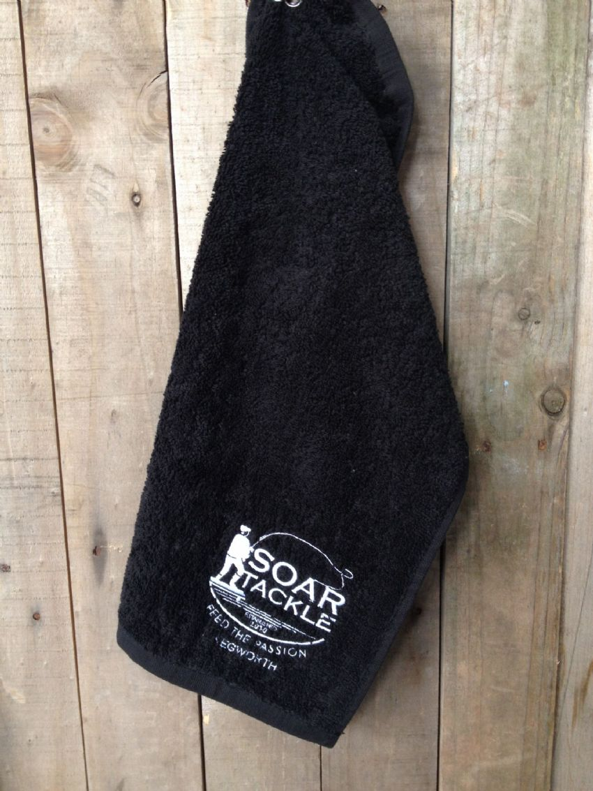 Small Fishing Hand Towel from Soar Tackle Kegworth